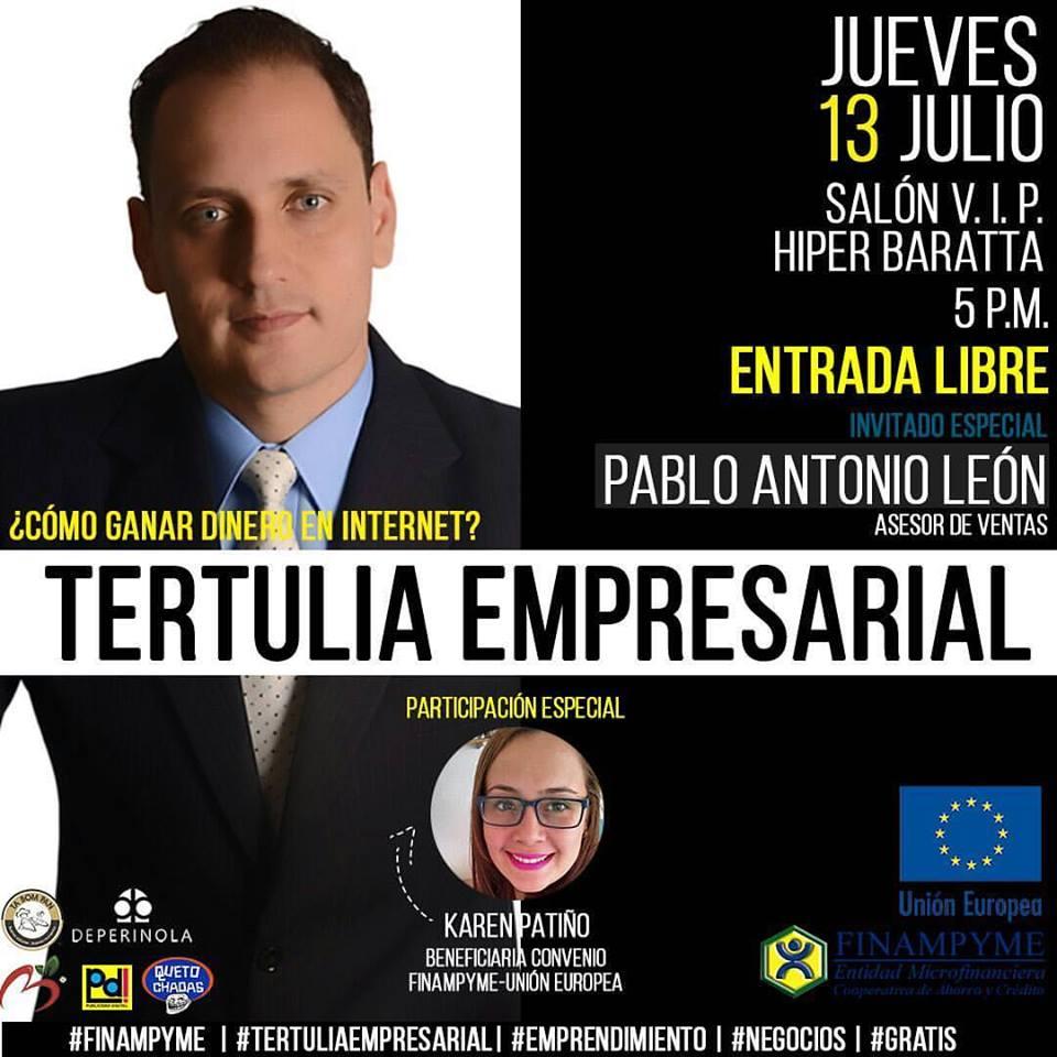 Tertulia Empresarial con Pablo León