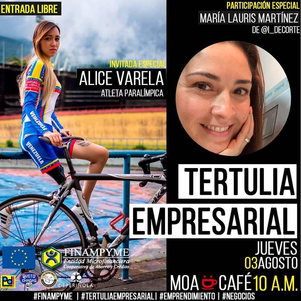 Tertulia Empresarial con Alice Varela