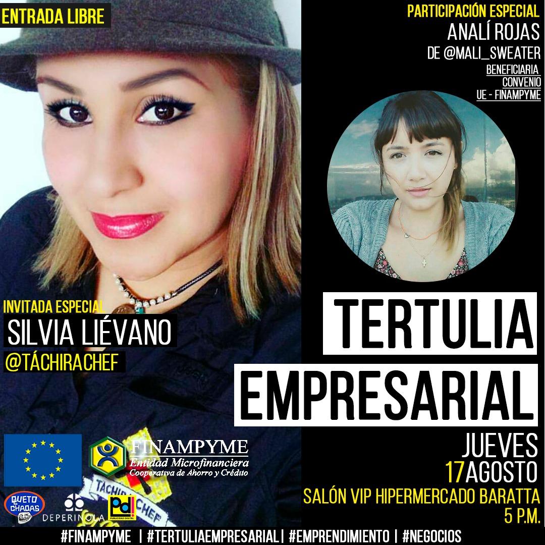Tertulia Empresarial con Silvia Liévano