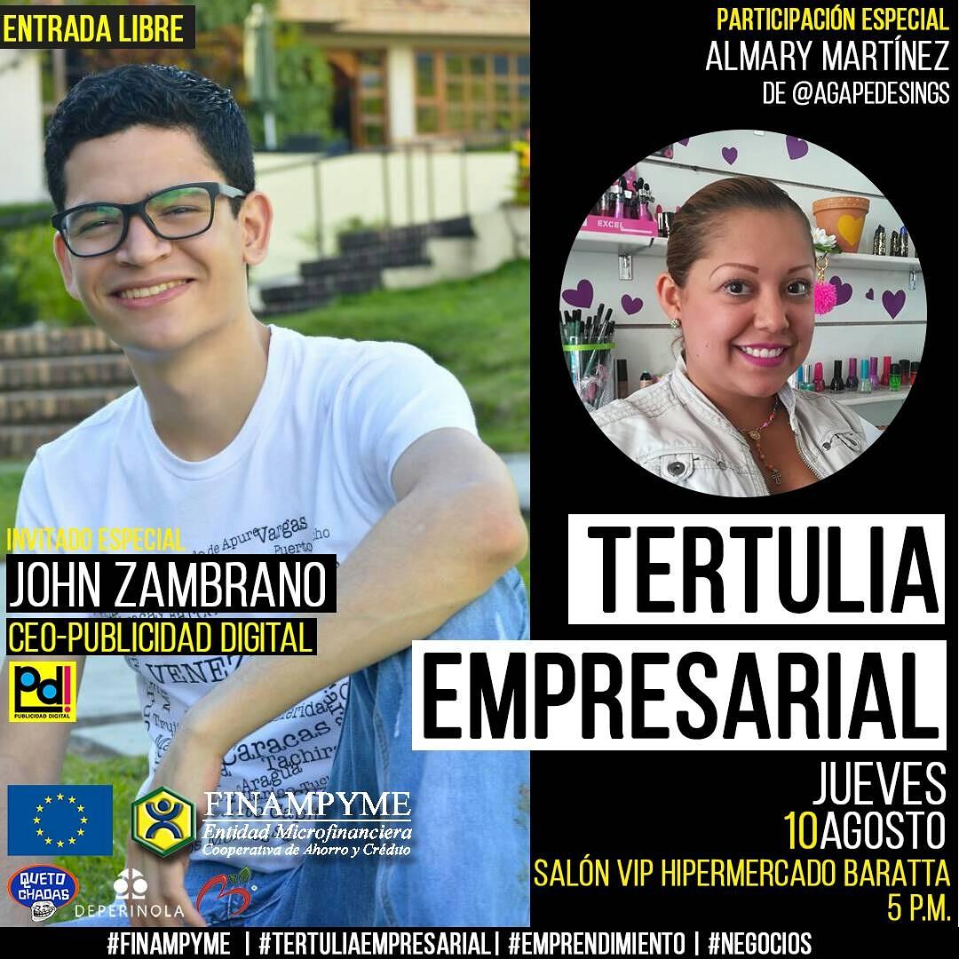 Tertulia Empresarial con John Zambrano