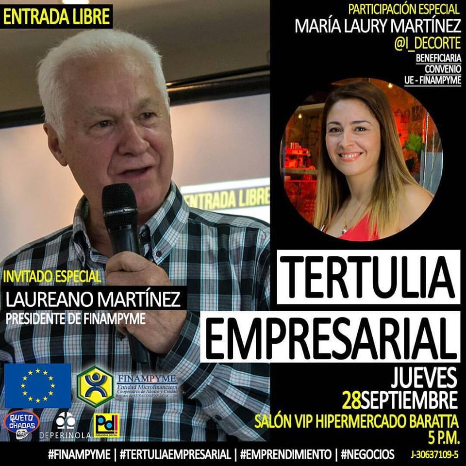 Tertulia Empresarial con Laureano Martínez