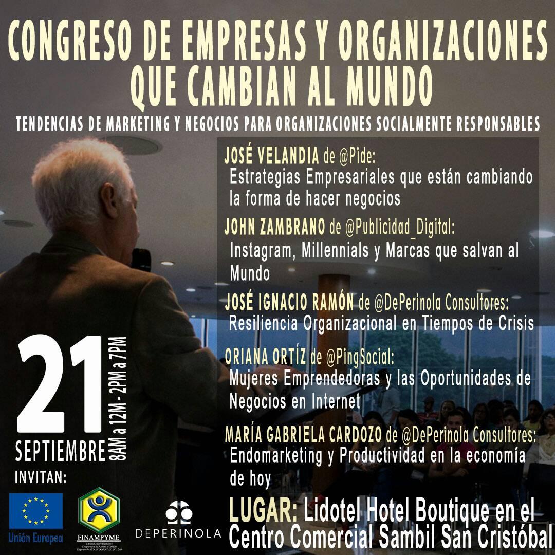 Congreso de Empresas y Organizaciones que cambian el Mundo