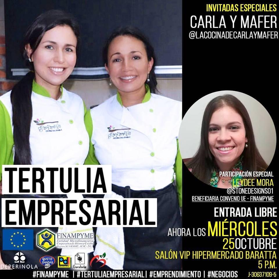 Tertulia Empresarial con Carla y Mafer Gamarra